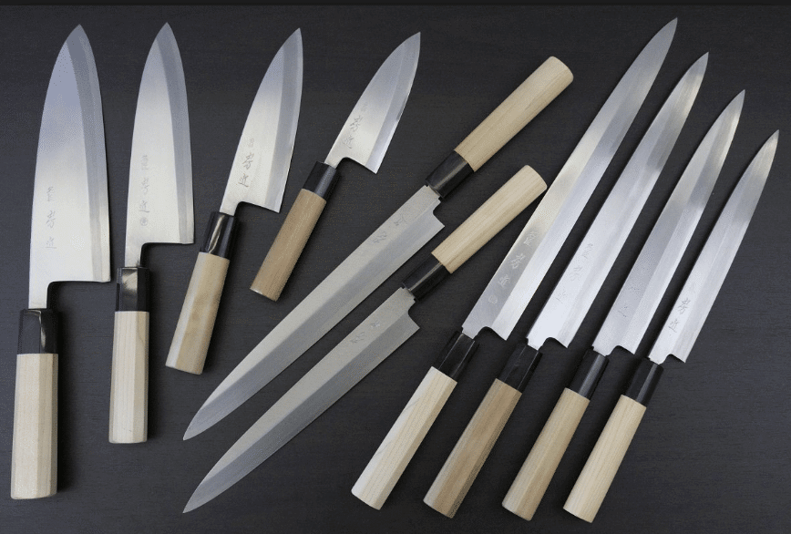 sushi knife types