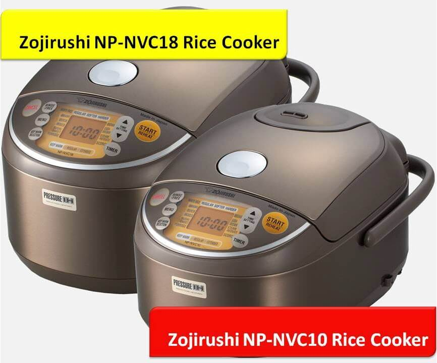 NP-NVC10 NP-NVC18 Rice Cookers